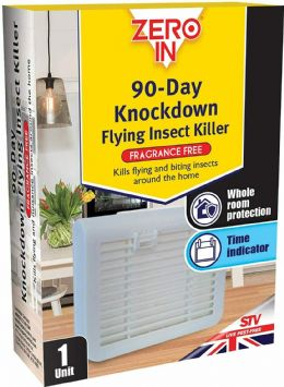 Zero In 90-Day Knockdown Flying Insect Fly Repellent Repeller Killer (No Smell)